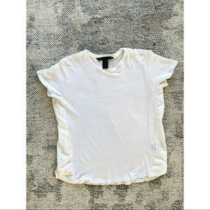 Marc by Marc Jacobs Linen White Tee Shirt